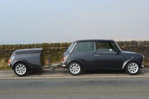Rover Mini 1275 MPI 1997 and Trailer