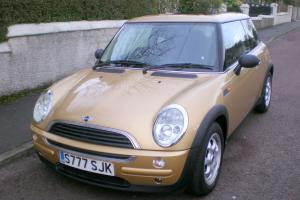 2003 MINI ONE HATCBACK 1.6 3DOOR, VERY LOW MILEAGE