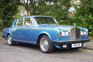 Rolls Royce Silver Shadow II with Royal Association Photo