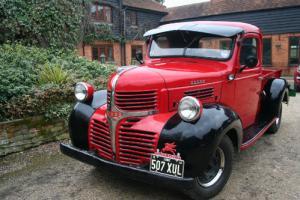 Dodge Halfton Pick Up ,Art Deco Truck,Modern diesel drivetrain