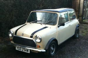 Austin Morris Mini 1981 998cc 26691 miles Photo