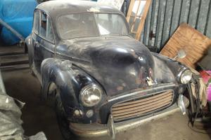 1955 SPLIT SCREEN MORRIS MINOR FOR RESTORATION