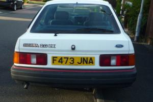 1989 White Sierra 2.0 LX automatic