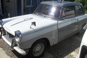 1961 Triumph Herald 1200 Saloon Classic Car White/Grey Tax Exempt!