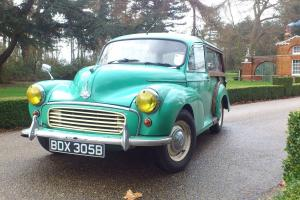 Morris Minor Traveller, 1098cc, 1964 with Ash Frame & New MOT + Tax 2015