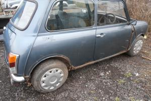 ROVER MINI 998cc 1991 FOR RESTORATION SPARES OR REPAIR BARN FIND PROJECT