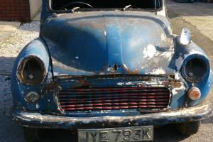 BARN FIND!!!! MORRIS MINOR VAN (PROJECT)