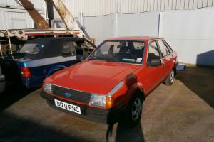 1984 FORD MK3 ESCORT 1.6 GHIA.. Photo