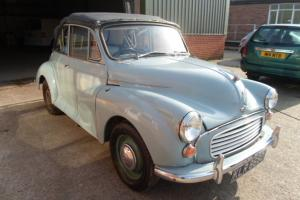 1966 Morris Minor 1000 Convertible