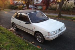 PEUGEOT 205 1.4 CJ CABRIOLET JUNIOR CONVERTIBLE 1991 Photo