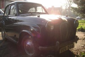 Austin A30 Black 1955 Transferable registration number