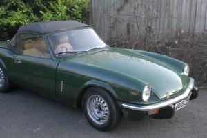 1979 Triumph Spitfire 1500 Tax July 2014 MOT October 2014