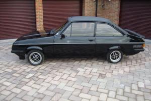 1976 RS 2000 MK2 ESCORT In Black