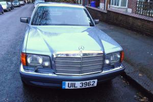 1989 Mercedes 500SEL W126 fully loaded immaculate, rear electric reclining seats