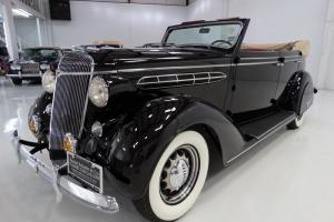 1936 CHRYSLER AIRSTREAM CONVERTIBLE SEDAN, ONE OF THE FINEST IN EXISTANCE!