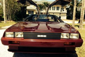 Delorean, Like New, Only 7,772 Orig Miles. NO RESERVE!!! - GREAT PRICE!!!