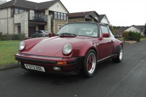 Porsche 911 targa supersport 5 speed manual with G50 box and 930 body