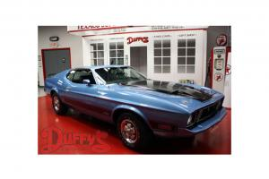 1973 Mustang Mach 1 Original numbers matching