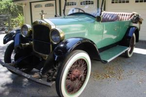 1922 Hupmobile R Touring Brass