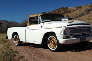 Restored 68 international muscle truck, rat rod, hot rod, classic, custom chop t Photo