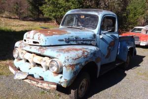 1952 Ford Truck F1, Marmon Herrington. 4 wheel drive.