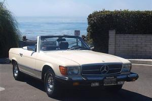 1980 Mercedes 450SL,2 Owner California Car, Service History, Original Paint,