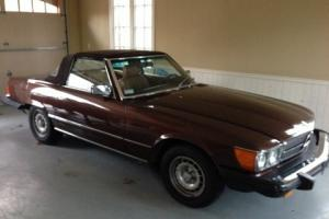BEAUTIFUL 1980 MERCEDES 450SL  18,000 ORIGINAL MILES