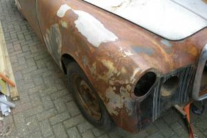 Alvis TD21 Restoration project Photo
