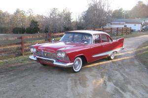 1958 Plymouth Savoy sedan Driver ready