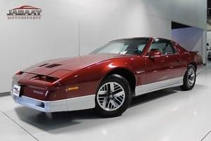 1987 PONTIAC TRANS AM~ONLY 41,338 MILES~ORIGINAL WINDOW~AUTO~2 TONE PAINT~5.0 V8