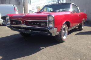 1967 Pontiac GTO Convertible Frame UP Restoration owned for 32 Years Low Miles