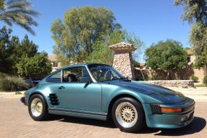 Porsche 911 turbo look steel body slant nose ,