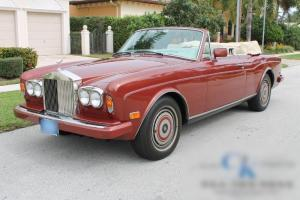 1988 Rolls-Royce CORNICHE II Very Clean, Super Low Miles, No issues, Rare Find