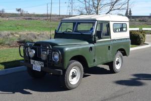 1975 Land Rover Series III 88