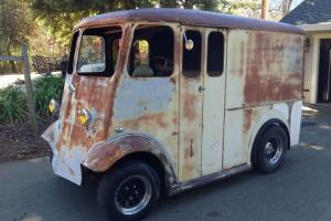 Rare Classic Divco Vintage Hot Rod Ford Chevy Barn Project Truck Panel Wagon Van