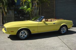 Ford Mustang 1973 2D Convertible 3 SP Manual 4 7L Carb in Springwood, QLD