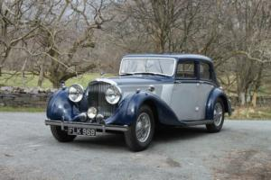 1939 Bentley 4 1/4 Overdrive Park Ward Sports Saloon B169MX