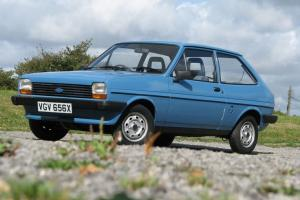 Mk 1 Ford Fiesta popular plus 1.1cc 1982 only 16,000 miles from new