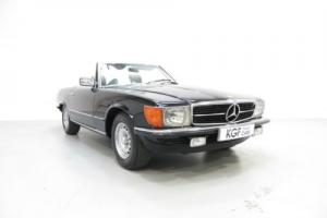 An Exquisite Mercedes-Benz 380SL with an Amazing 15,860 Miles from New.