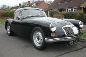 MG MGA A coupe 1600 1960 right hand drive Black