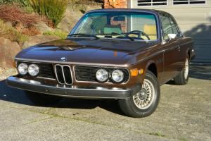 1974 BMW 3.0csa, Brown, Great Condition
