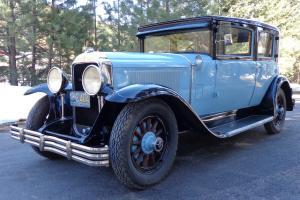 A 1929 Buick Series 129 Model 51 Four Door Sedan