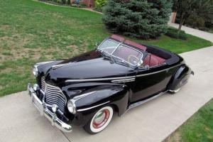 1941 Buick Super Convertible Straight Eight Wonderful Automobile Ready to Enjoy