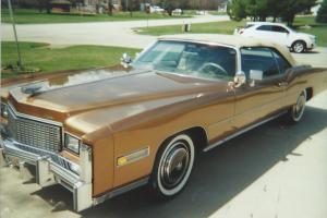 1976 Cadillac Fleetwood Eldorado Convertible w/500cid V-8 New Tires & Vinyl Top!