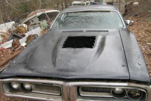 1971 DODGE CHARGER R/T 440 HEMI  4 SPEED  354 DANA 60 BLACK