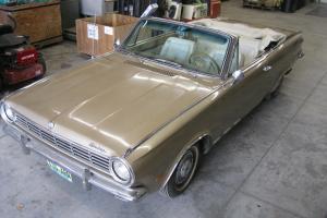1965 Dodge Dart Convertible Gold Rebuilt Motor, all Original