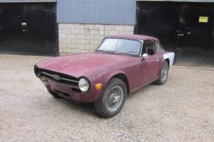 Triumph TR6 LHD Overdrive Dry Project To Restore Photo
