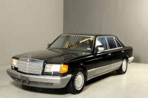 1986 MERCEDES BENZ 560SEL SUNROOF LEATHER FRONT&REAR HEATED SEATS WOOD ALLOYS !