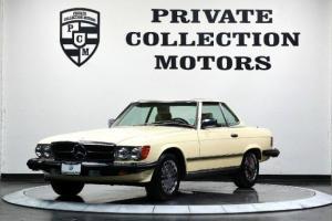 1987 Mercedes-Benz 560SL Convertible Super Low Miles Pr