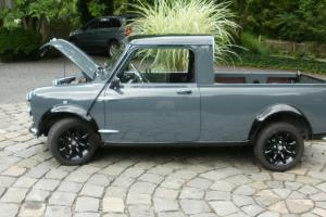 Morris Mini Cooper Pickup  100% rebuilt, 1300cc w/bmw mini supercharger
